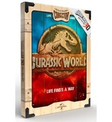 Jurassic World - Logo Wooden Poster