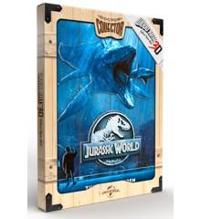 Jurassic World - Mossa Wooden Poster