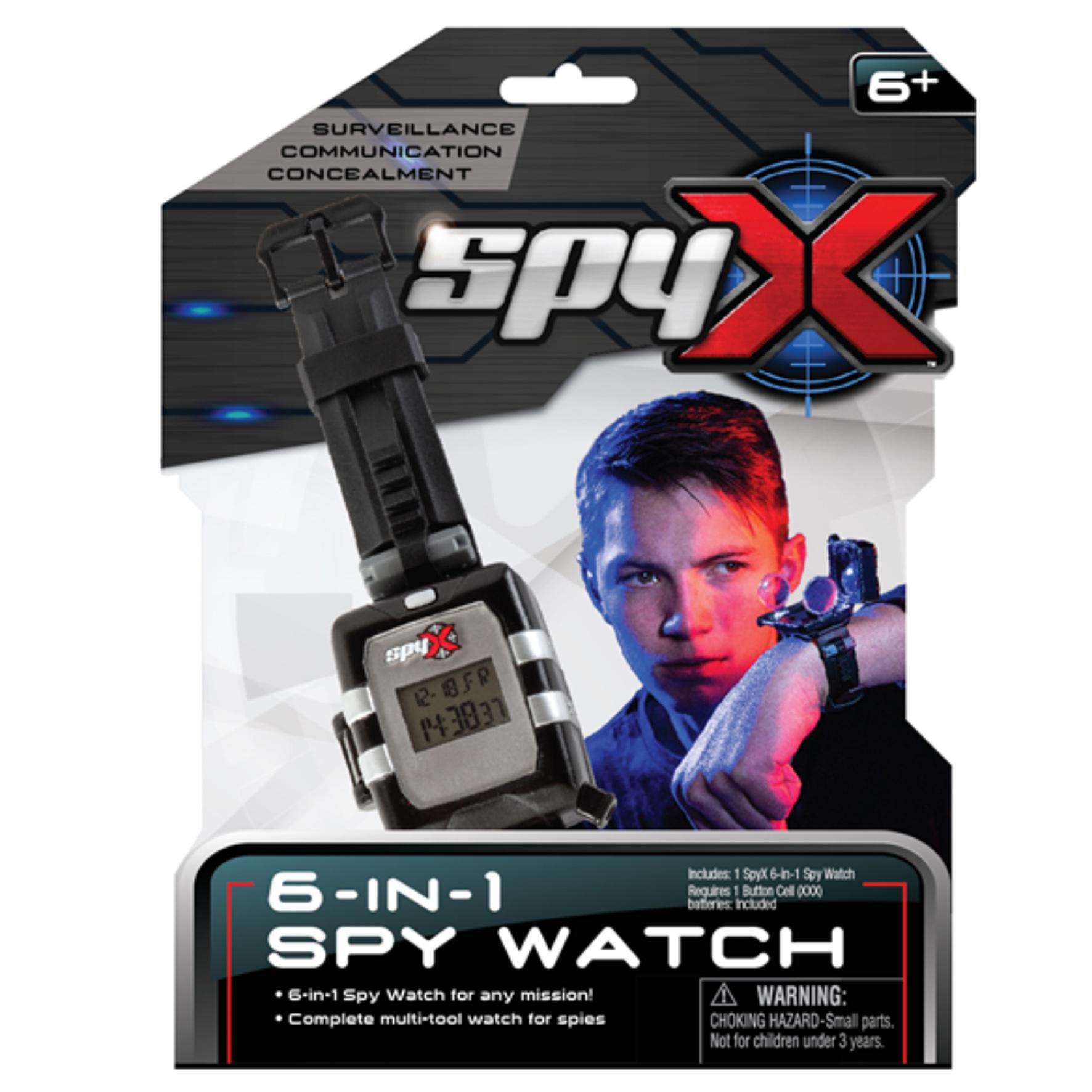 SpyX - Spy Recon Watch (29-9104-00)