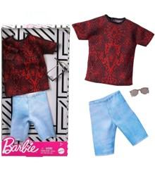 Barbie - Ken Trend Fashion Dukke Tøj - Streetwear Style (GHX50)