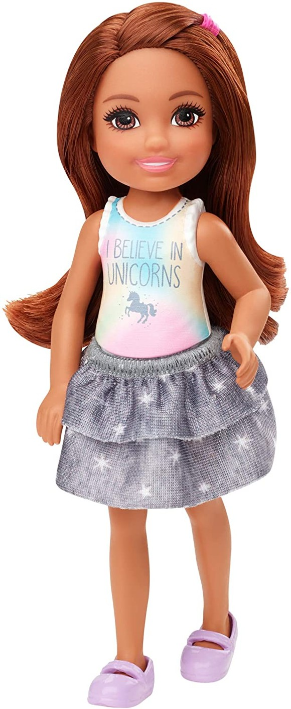 Barbie - Club Chelsea Doll - Unicorn Shirt  (GHV63)