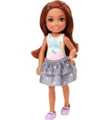 Barbie - Club Chelsea Dukke - Enhjørning Trøje (GHV63)