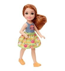 Barbie - Club Chelsea Dukke - Dovendyr trøje og Nederdel (GHV66)