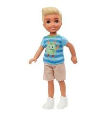Barbie - Club Chelsea Doll - Dreng m. Alien Trøje (GHV67)