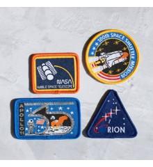 NASA Iron On Patch Set(NASAGPTC4)