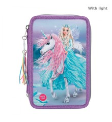Top Model - Fantasy Trippel Pencil Case w/LED - Icefriends (11181)
