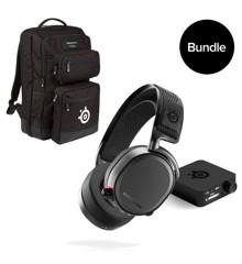 Steelseries - Arctis Pro Wireless &  SteelSeries -  Gaming Backpack By Targus - Bundle
