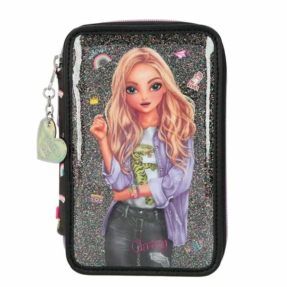 Top Model - Trippel Pencil Case - Girlz Club (11211)