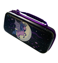 Switch Lite Moonlight Unicorn Case Purple/Violet