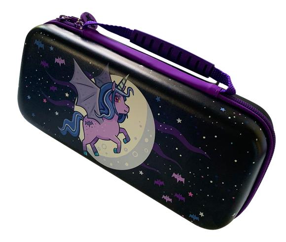 Switch Lite Moonlight Unicorn Case Purple/Violet
