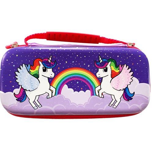 Switch Lite Unicorn Case Pink/Violet