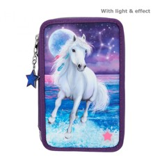 Miss Melody - Trippel Pencil Case w/LED - Northern Light (11255)