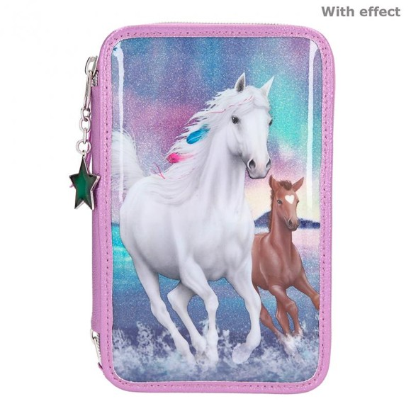 Miss Melody - Trippel Pencil Case - Northern Light (11256)