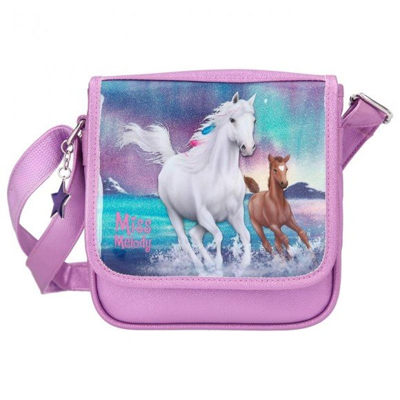 Miss Melody -  Small Shoulder Bag - Northern Light  (11259)