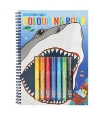 Dino World - Underwater Colouring Book (7300)