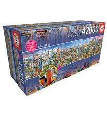 Educa - Puzzle 42.000 - Around the World (017570)