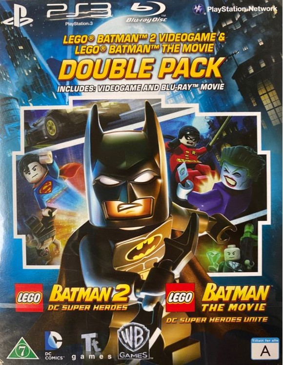 Lego Batman 2: DC Superheroes & Lego Batman The Movie (Blu-Ray)
