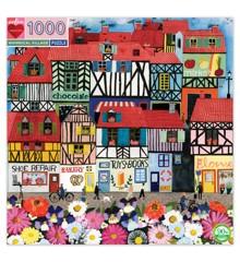 eeBoo - Puslespil - Hyggelig landsby, 1000 brikker (EPZTNYL)