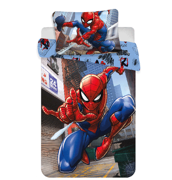 Bed Linen - Junior Size 100 x 140 cm - Spiderman (1000266)