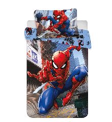 Junior Sengetøj - Spiderman (140 x 100)