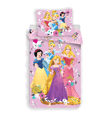 Bed Linen - Junior Size 100 x 140 cm - Disney Princess (1000265)