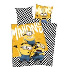 Bed Linen - Adult Size 140 x 200 cm - Minions (89252421)