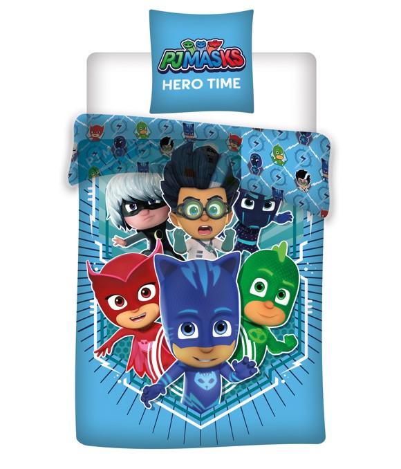 Bed Linen - Adult Size 140 x 200 cm - PJ Masks (1000262)
