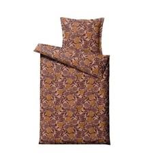 Södahl - Organic Tapestry Bedding 140 x 200 cm - Maroon (11989)