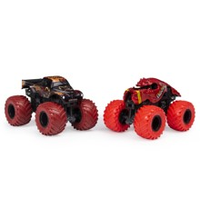 Monster Jam 1:64 2 Pack - Captains Curse & Cush Station (20123607)