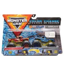Monster Jam - 1:64 2 Pakke - Radical Rescue & Blue Thunder