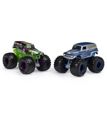 Monster Jam 1:64 2 Pack - Grave Digger & Grave Digger Chesapeake (20123608)