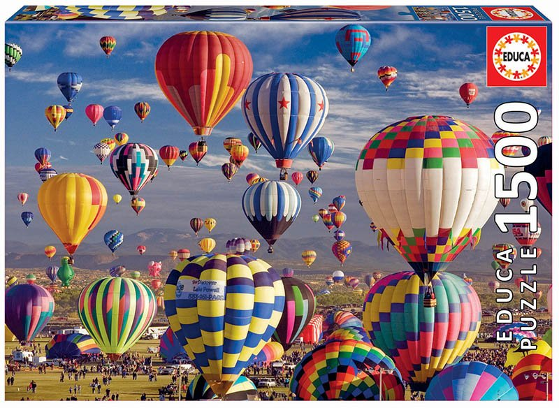 Educa - Puzzle 1500 - Hot Air Ballons (017977)