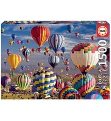 Educa - Puzzle 1500 - Hot Air Ballons (017977)