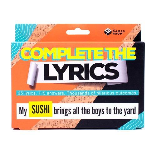 Complete The Lyrics Game (1840)