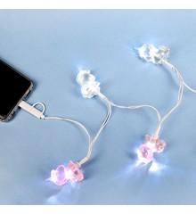 Light up Unicorn USB Lights Charger (1759)