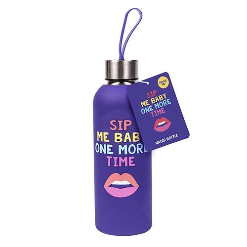 Lips & Slogan Water Bottle (1905)