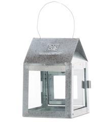 A2 Living - Hænge Lanterne Med Wire 2 stk - Galvaniseret Stål