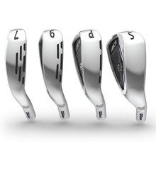 Wilson - Golf D7 Iron Set, 7-Piece Iron Set of 5, 6, 7, 8, 9, PW and SW - Steelshaft