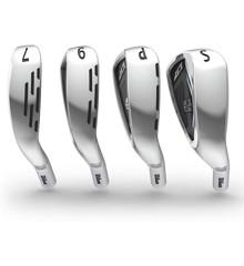 Wilson - Golf D7 Iron Set, 7-Piece Iron Set of 5, 6, 7, 8, 9, PW and SW - Steelshaft