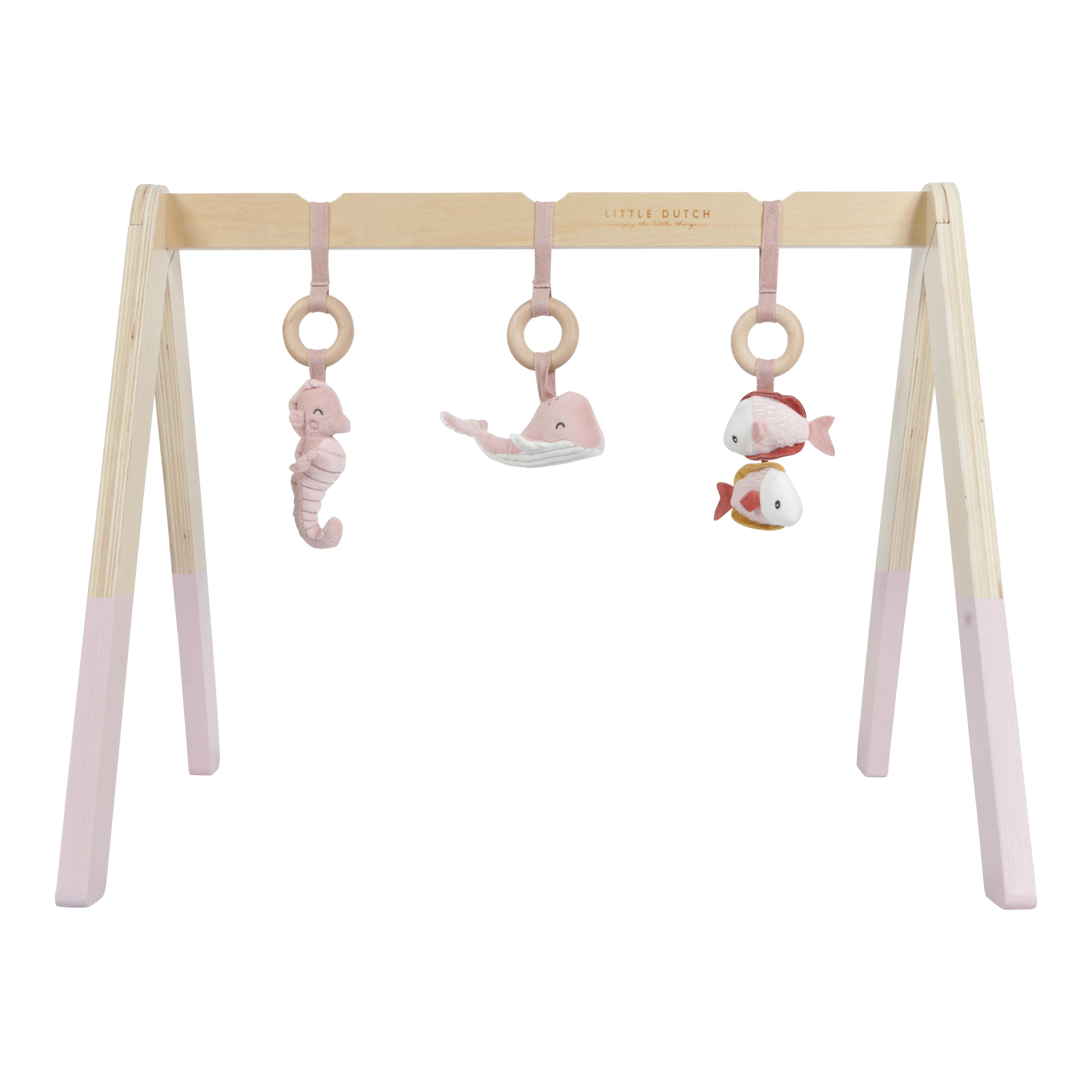 Little Dutch - Baby gym Ocean, Pink (LDT4833)