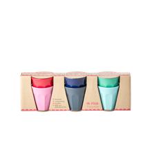 Rice - 6 Melamine Espresso Cups - Believe in Red Lipstick