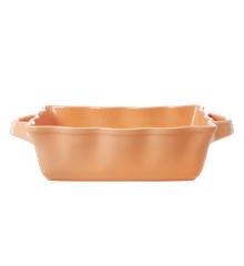 Rice - Stoneware Oven Dish - Apricot M