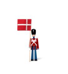 Kay Bojesen - Standard-bearer mini red/blue/white (39226)