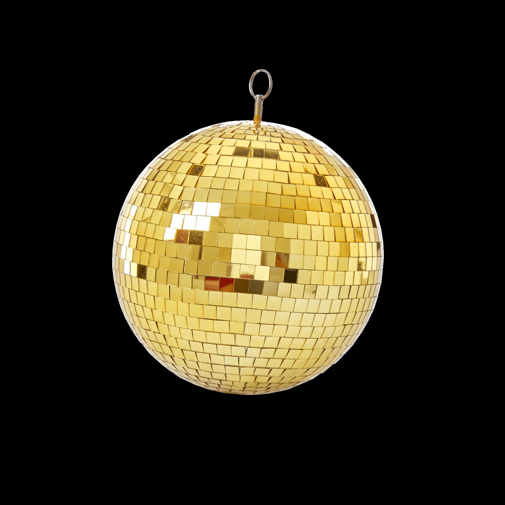 Rice - Gold Disco Ball - 25 cm