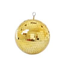 Rice - Guld Disko Kugle - 25 cm