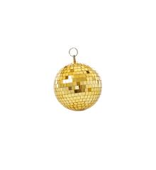 Rice - Gold Disco Ball - 15 cm