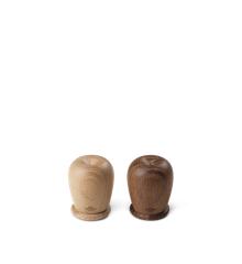 Kay Bojesen - Salt and pepper set H6 oak/smoked oak (39123)