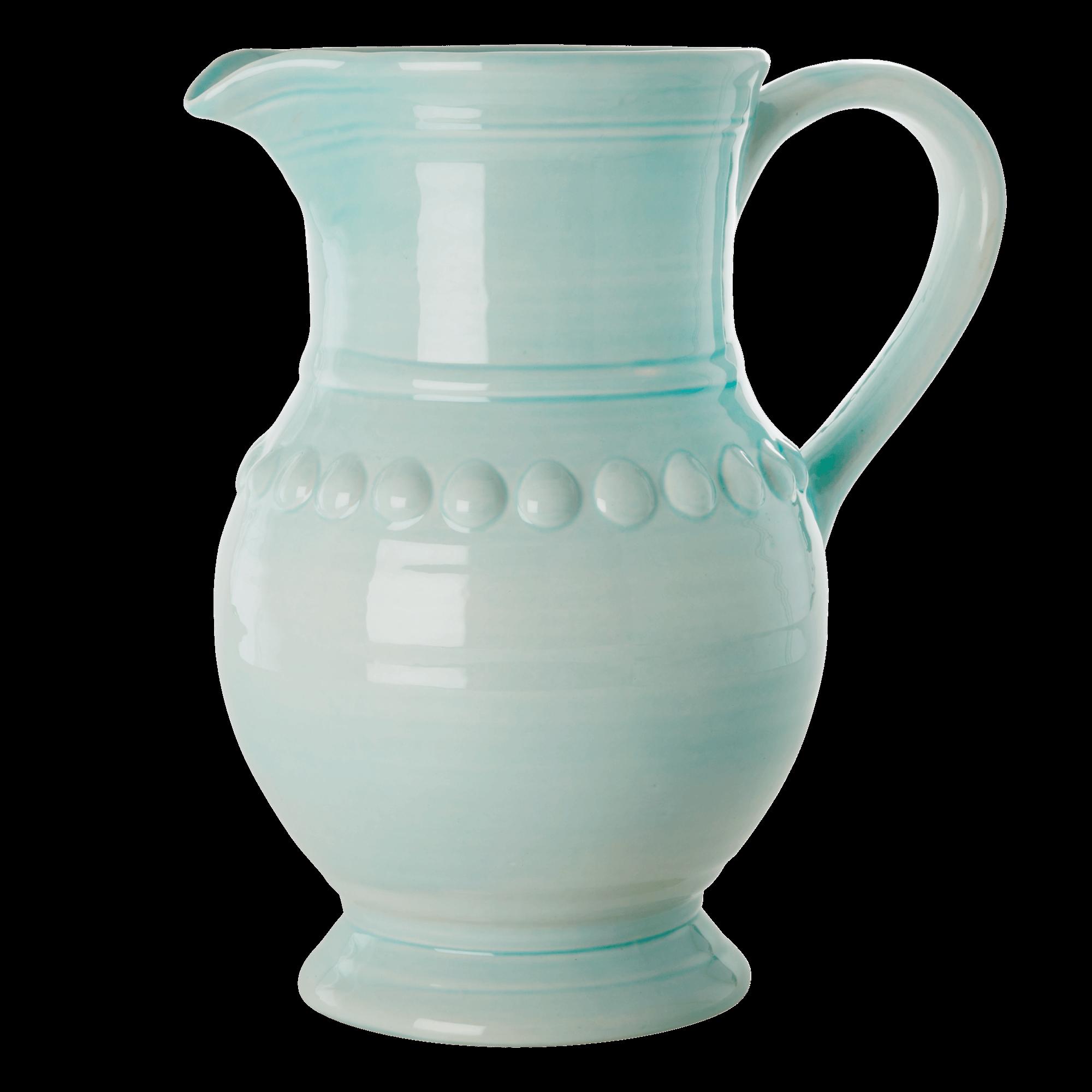 Rice - Ceramic Jug  - Ice Blue  7,9 L