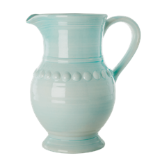 Rice - Ceramic Jug  - Ice Blue  7,9 L