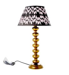 Rice - Metal Bord Lampe i Guld